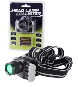 LAMPADA FRONTALE COLLISTER HEADLAMP