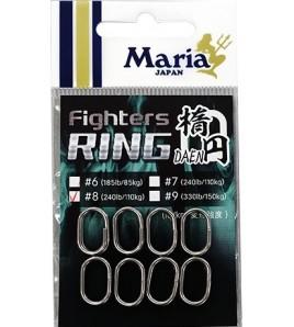 Oval Ring Fighters Maria Misura 7 LB 240 pezzi 8