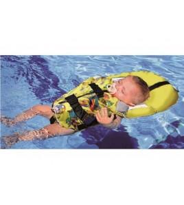 GIUBBETTO SALVAGENTE BABY SAFE 150 GIALLO FLUO