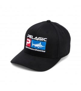 CAPPELLINO PELAGIC DELUXE LOGO FLEXFIT HAT BLACK